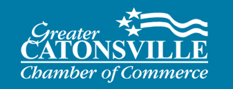 Proud members of Cantonsville Chamber of Commerce