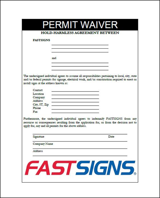 352 - Permit waiver 2