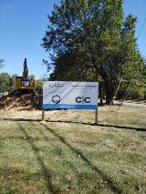 Architect New Construction Site Sign