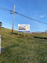 Commercial Construction Business Large Site Sign