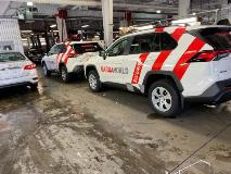 Fleet vehicle wraps for national company
