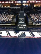 High tack cut decals for university sports team