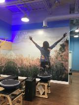 Large Vinyl Wall Graphic for Small Business