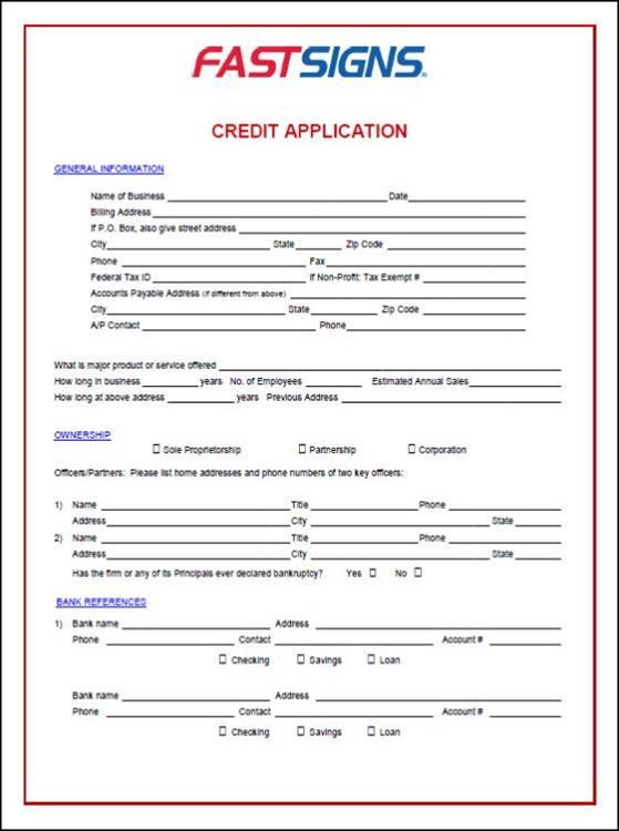 Credit Application 2
