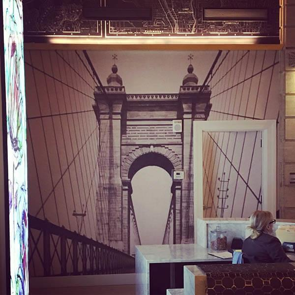 City Club Roebling Lobby Mural