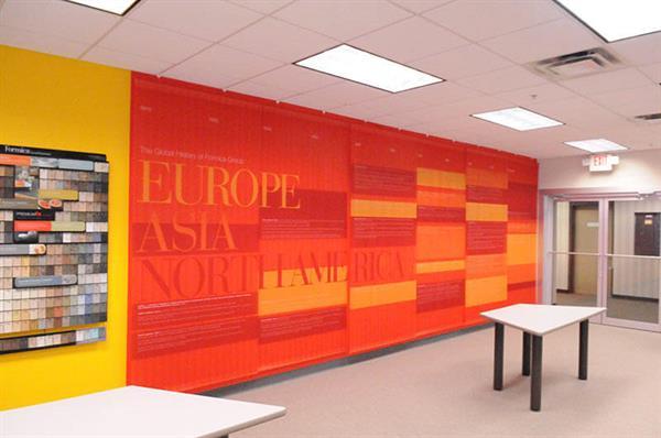 Colorful Wall Graphics
