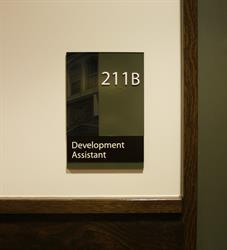 Development Assistant Braille Sign