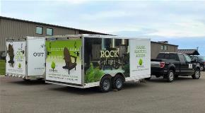 Trailer wrap by FASTSIGNS of Redwood City