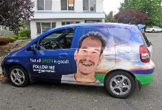 Suv wrap by FASTSIGNS of Redwood City