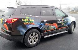 SUV graphics by FASTSIGNS of Redwood City