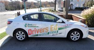 Car graphics by FASTSIGNS of Redwood City