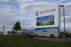 Koch Foods - Main Sign