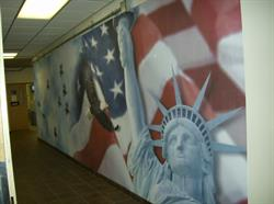 Air Force Wall Mural