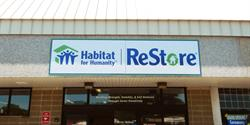 Habitat for Humanity ReStore Building Sign