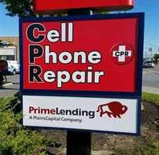 CPR Cell Phone Repair Lexan Panels