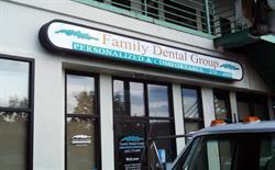 Illuminated Family Dental Light Box