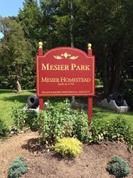 Mesier Park Carved and Painted Sign