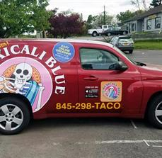 Mexicali Blue Vehicle Graphics