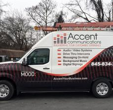 Accent Communications Vehicle Wrap