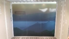 Steelcase Transparent Mountain Range Graphics - March 2020
