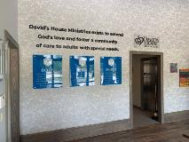 Davids House Acrylic on Standoffs with Dimensional Letters - July 2020