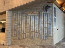 St. Francis Muskegon Acrylic Donor Wall3 - Nov 2019