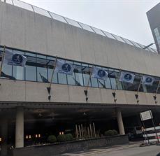 Amway River Bank Run Flags