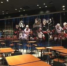 Grand Rapids Griffins Wall Mural