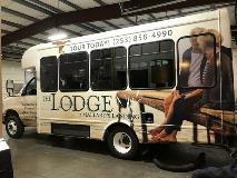 Lodge Bus Wrap