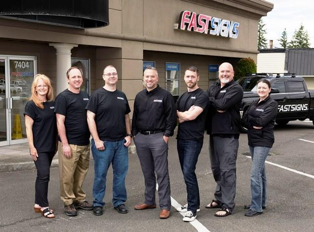 FASTSIGNS of Everett, WA Staff