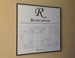 Apartment Building Directory Sign