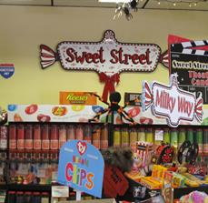 Candy Shop Interior Wall Sign