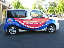 Felix Boston Insurance Vehicle Graphics