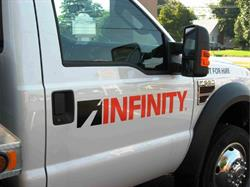 Infinity vehicle graphics