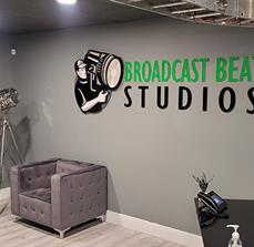 Broadcast Beat Studios Dimensional Letters