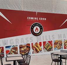 Sawgrass Mills Mall Coming Soon Wall Graphics