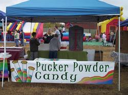 Candy Store Fair Banner