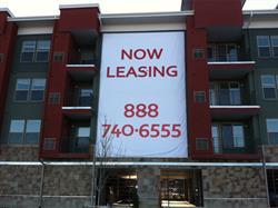 Apartment Building Banner