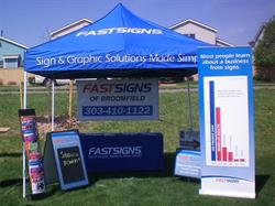 Trade Show Event Tent and Banners