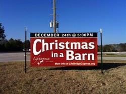 Christmas Service Banner