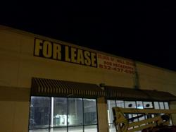 For Sale / Lease Banner - Commercial Real Estate