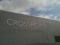 Aluminum Letters for Church