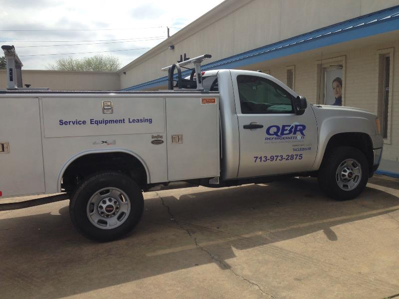 QBR Refridgeration Vehicle Graphics
