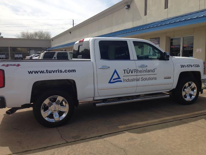 TUV Rheinland Vehicle Graphics