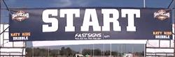 Southland Conference Fence Start Banner