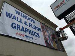 FASTSIGNS of Katy Framed Building Banner