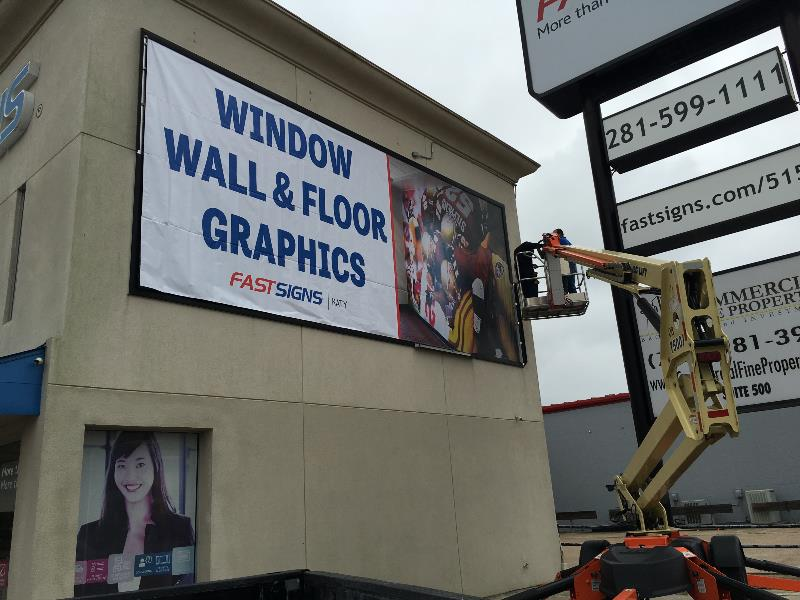 FASTSIGNS of Katy Framed Building Banner