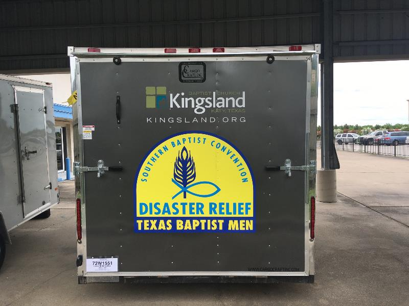 Kingsland Baptist Vehicle Graphics