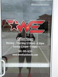Woodlands Elite Window Graphics