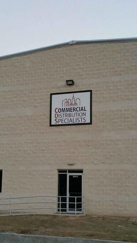 Commercial Distribution Specialists Building Sign